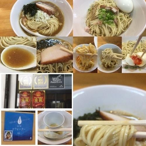 「煮干ソバ 醤油 +和え玉 塩 +味玉 +生卵」@煮干中華ソバ イチカワの写真