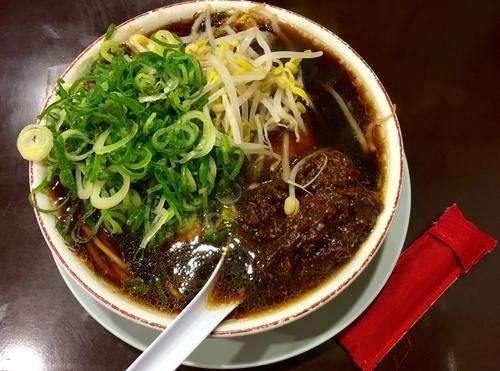 「肉味噌ラーメン」@新福菜館 KiKi京橋店の写真