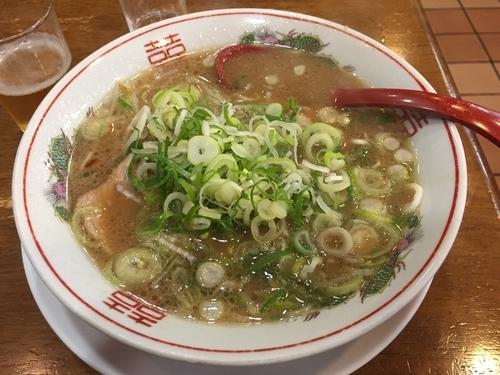 「ラーメンネギ多め麺硬め」@ラーメン壱番館の写真