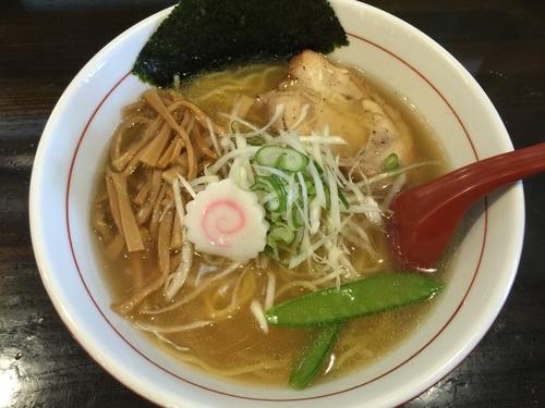 「塩中華(中盛り)」@麺 GAKUの写真