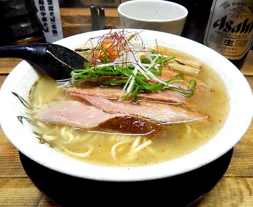 「鴨塩そば(800円)」@麺屋 裕の写真