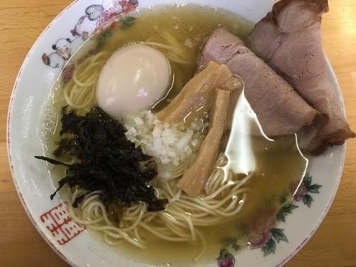 「【限定】平子煮干しラーメン  860円」@ひかり食堂の写真