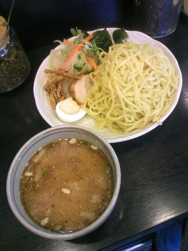 「つけ麵850円」@味噌一 大原店の写真