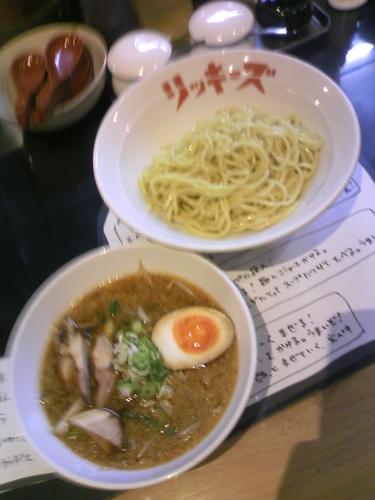 「つけ麵690円」@リッキーズの写真