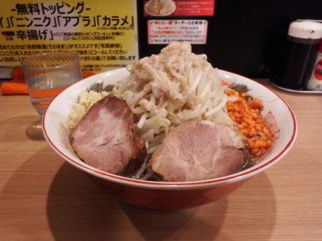 「オーション」@らー麺 シャカリキの写真