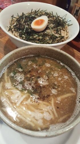 「潮つけ麺 塩味」@らーめん寺子屋 麺座まねきの写真