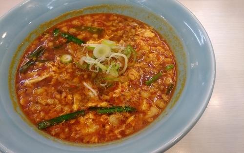 「カレータンタン麺・2辛+挽肉増し」@元祖カレータンタン麺 花虎の写真