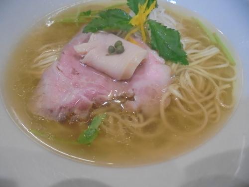 「鶏そば塩 900円」@麺LABOひろの写真