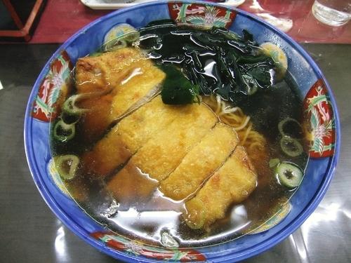 「肉香り揚げメン(900円)」@大黒屋の写真