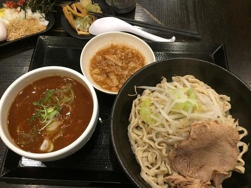 「旨・辛つけ麺(中)¥850」@つけ麺 どでんの写真