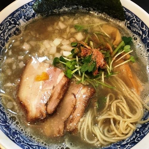 「ニボヲタ(自家製麺)」@麺奏 弥栄の写真