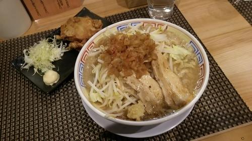 「神二郎(麺300g)」@セアブラノ神 伏見剛力の写真