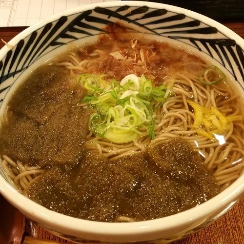 「昆布そば」@おらが蕎麦 浜松駅メイワンビックカメラ館店の写真