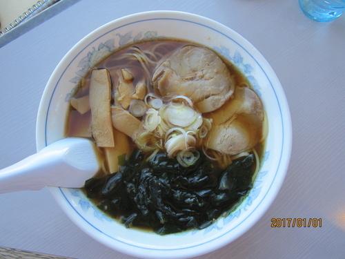 「ラーメン620円」@展望レストラン バルーンの写真
