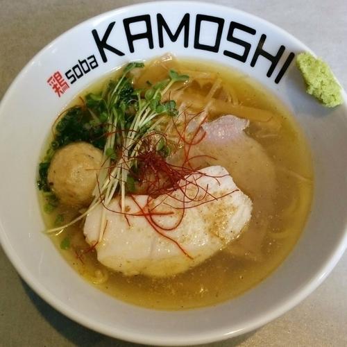 「鶏soba 潮」@鶏 soba KAMOSHIの写真