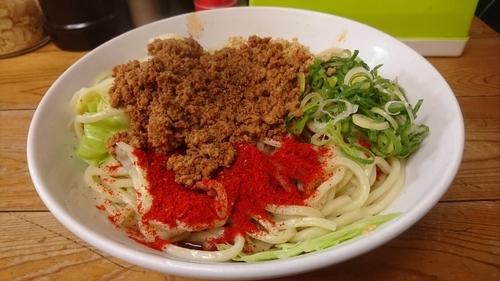 「汁なし担々(大)」@自家製麺 てんかの写真