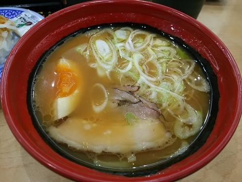 「7種の魚介 濃厚味噌ラーメン」@無添 くら寿司 松本渚店の写真