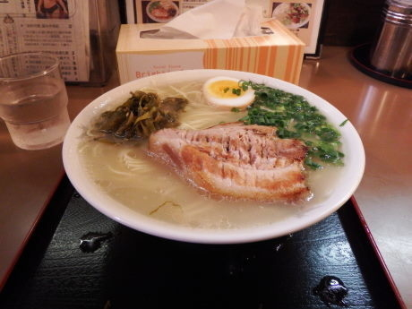「一枚チャーシュー麺」@ラーメン櫻島 本店の写真