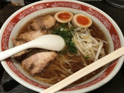 「生姜ラーメン【750円】」@尾道ラーメン 麺一筋 新大塚店の写真