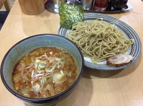 「ピリ辛魚豚つけ麺 ¥790」@長州ラーメン 万龍軒 富士見店の写真