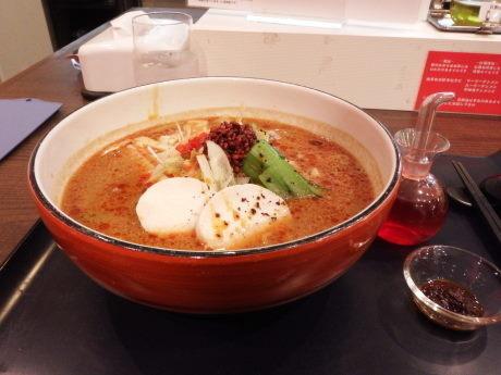 「担担メン」@四川菜麺 紅麹屋の写真