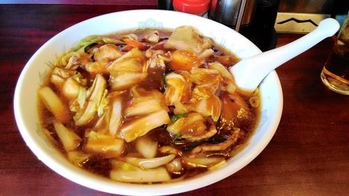 「特製龍門麺840円」@龍門飯店の写真