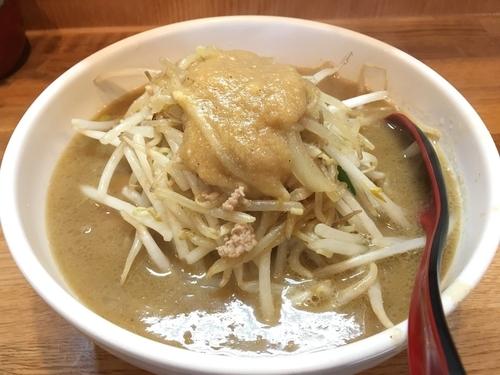 「味噌ラーメン野菜大盛り+ネギ」@味噌麺処 楓の写真