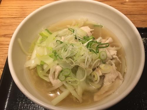 「鶏柚子麺(880+消費税70円)」@宙寅屋 東京ソラマチ店の写真