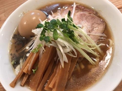 「特製らぁ麺+あぶらそば並」@The Noodles & Saloon Kiriyaの写真