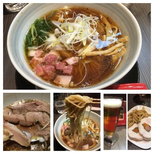 「醤油らーめん 820円+ビール等」@柳麺 呉田-goden-の写真
