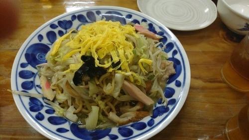 「皿うどん 830円」@お食事処 まゆの写真