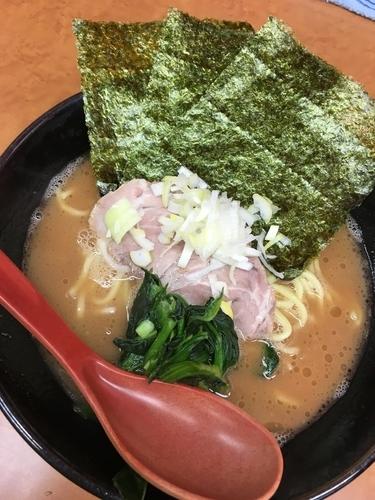 「ラーメン」@横浜ラーメン 武蔵家 幡ヶ谷店の写真