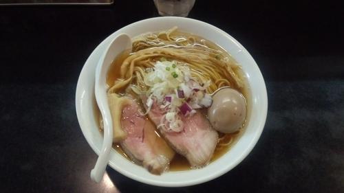 「味玉そば」@麺処 晴の写真