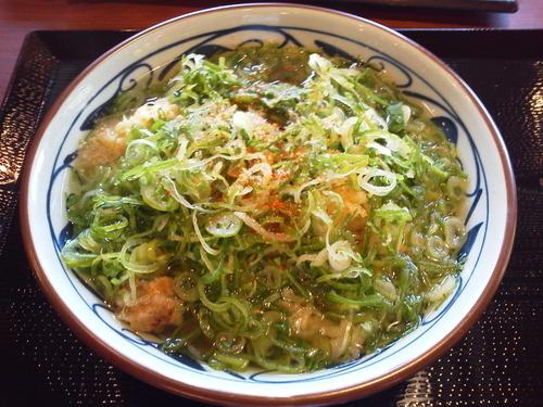 「かけうどん大 390円」@丸亀製麺 宜野湾店の写真