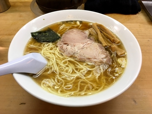 「ラーメン・細麺」@中野大勝軒の写真