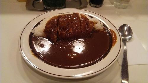 「カツカレー 500円」@カレー専門店 クラウンエース 上野店の写真