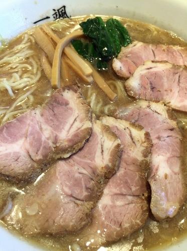 「肉そば」@中華そば 一颯の写真