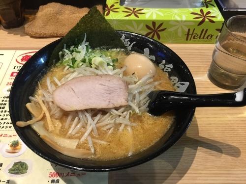 「濃厚味噌ラーメン700円」@麺匠 七福門の写真