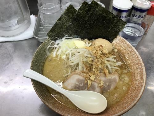 「ホワイト味噌カレー風味」@覆麺 智の写真