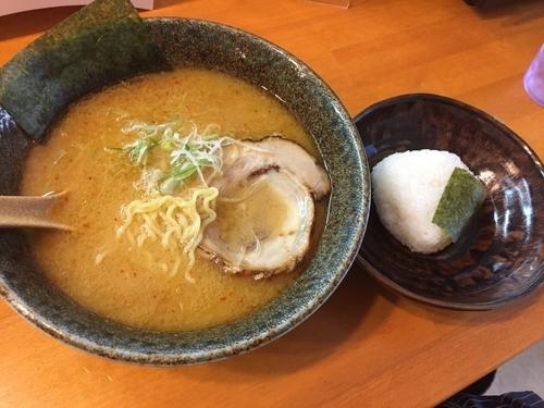 「朝ラー(味噌)¥500」@麺屋 朋の写真