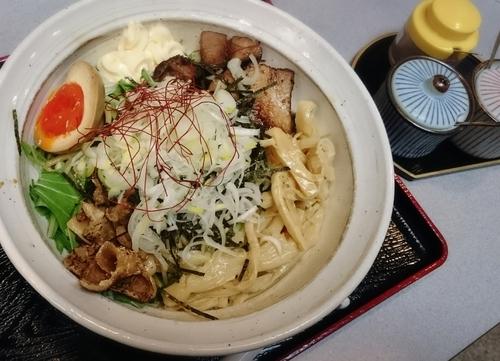 「鶏油そば 690円」@地鶏らーめん 秋津の写真