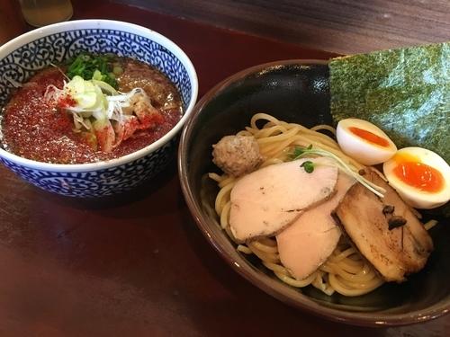 「昼限定 特製辛つけ麺」@麺屋くまがいの写真