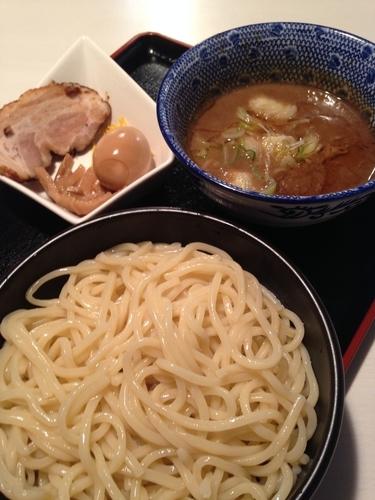 「煮干しつけ麺」@大勝軒満帆 行田店の写真