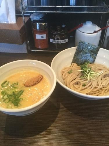 「鶏白湯つけ麺並 780円」@鶏そば 一瑳の写真