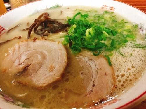 「ラーメンチャーハンセット680円」@麺篤屋の写真