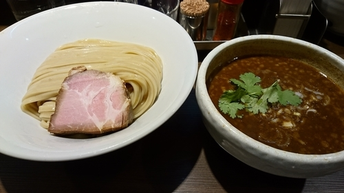「スパイスつけ麺(並)+チーズリゾット  ¥880」@つけ麺 一燈の写真