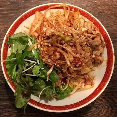 「カントナ流パッタイ★タイ風⁉︎あえ麺¥900」@タンメン カントナの写真