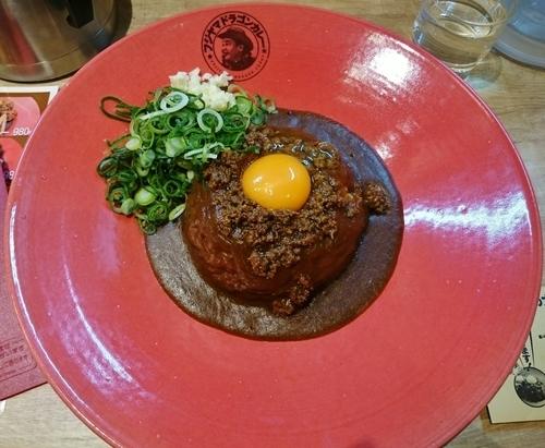 「フジヤマドラゴンカレー 680円」@フジヤマドラゴンカレー 秋葉原店の写真