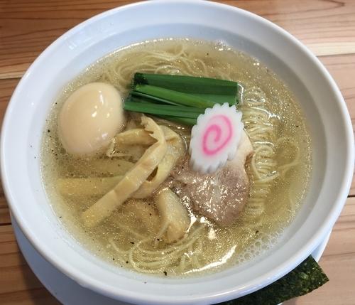 「塩らぁ~麺+半熟味玉(¥750+¥100)」@麺処 凪の写真
