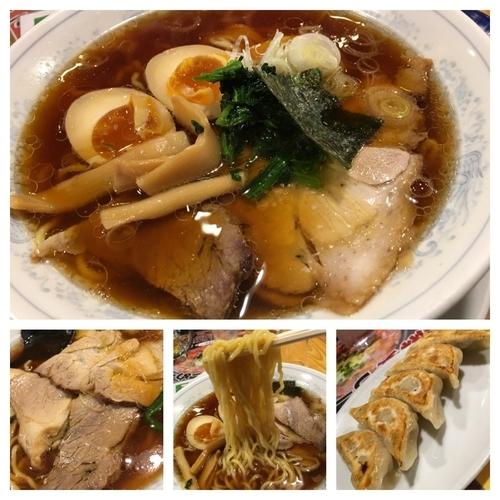 「生姜醤油らーめん  650円」@ラーメンとギョウザの店 陽気の写真